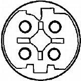HELLA Genuine Knock Sensor 6PG009108301