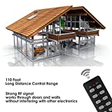 BESTTEN Wireless Remote Control Outlet Switch Set