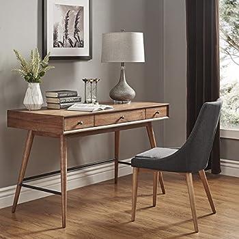 Amazon Com Mid Century Living Aksel Brown Wood 3 Drawer