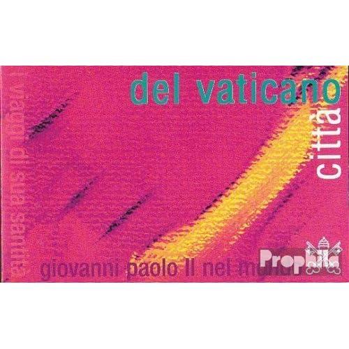 Vatikanstadt mh10 (complète.Edition.) 2002 pape voyage (Timbres pour les collectionneurs)