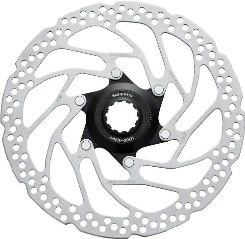 (SHIMANO C-Lock Bicycle Disc Brake Rotor - SM-RT30 (M 160MM, W/Lock Ring(SM-RT10 Type))