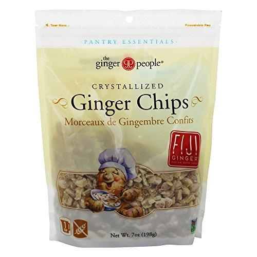 Ginger People Crystallized Ginger - Ginger People - Crystallized Ginger Chips - 7 oz.
