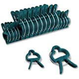 20pc Gentle Plant & Flower Clips for Supporting Stems