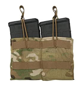 Tactical Tailor Fight Light 7.62 20-Round Double Mag Panel, Coyote Brown
