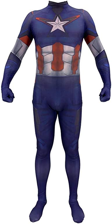 TOYSSKYR Disfraz de Cosplay para adultos Capitán América Avengers ...