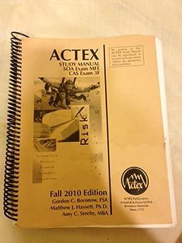actex study manual soa exam mfe cas exam 3f actex study manual soa rh amazon com Adapt Exam MFE Exam MFE Formula Sheet