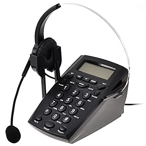 Amazon.com: Teléfono eDealMax RJ11 6P4C Call Center tecla ...