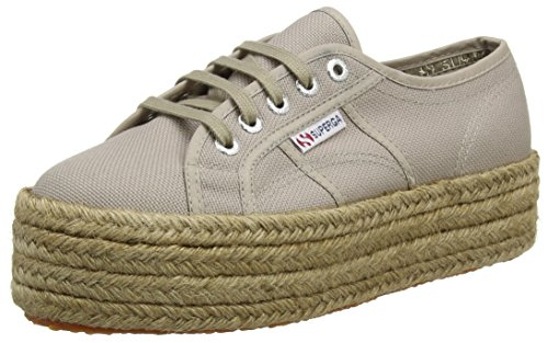 a Mushroom Cotropew Sneaker Basso Marrone Collo Superga 2790 Donna qCZaa