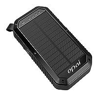 Solar Charger, Epai 8000mAh Portable Sol...