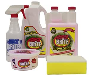 Quick N Brite 14013 Super Shot Eco-Safe Cleaning Kit