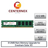 512MB RAM Memory for Evesham Solar XS (DDR25300 NonECC) Desktop Memory Upgrade by US Seller