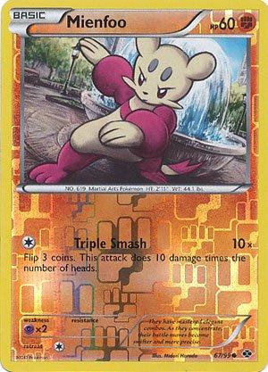 Pokemon - Mienfoo (67) - BW - Next Destinies - Reverse Holo (Pokemon Card Mienfoo)