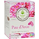 Traditional Medicinals Pau d'Arco Caffeine Free Herbal Tea – 16 Bags For Sale