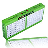 Cheap MarsHdyro Reflector96 Led Grow Light with 207W True Watt for Hydroponic Indoor Garden and Greenhouse Full Spectrum Veg and Bloom Switches added
