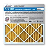 FirstLine Filters 10x30x1 MERV 11 Pleated AC Furnance Air Filter, Box of 12