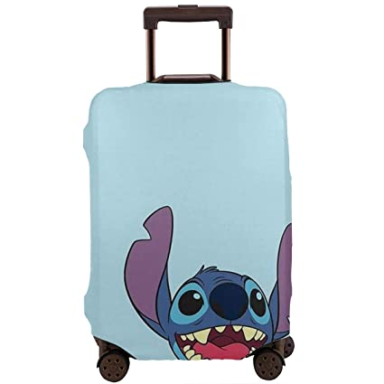 Amazon.com | Travel Luggage Cover Lilo And Stitch Luggage ...