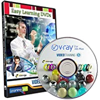 Easy Learning Learn V Ray 2.0 for 3ds Max Video Training Tutorial (DVD)