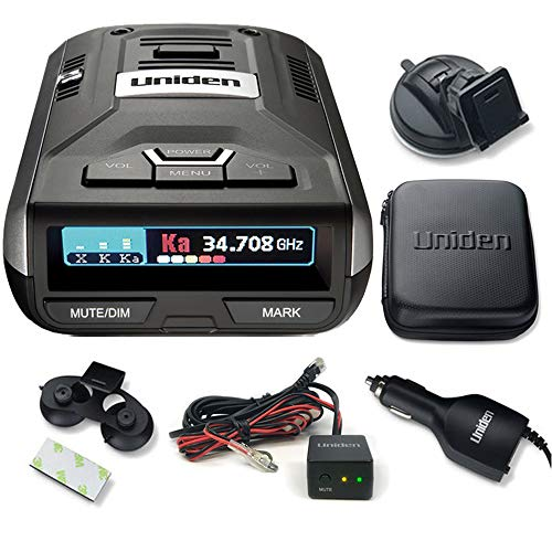 R3 Extreme Long Range Radar Laser Detector with GPS and Voice Alert with Hardwire Kit
