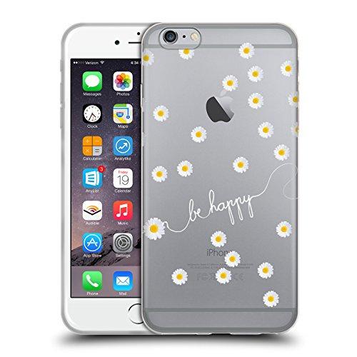Officiel Monika Strigel Claire Pâquerette Heureuse Étui Coque en Gel molle pour Apple iPhone 6 Plus / 6s Plus