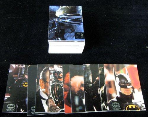 1992 Stadium Club Batman Returns Trading Card Set (100)