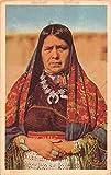 Native Americana Zuni Tribe Indian Tsytyaseta Antique Postcard J68735