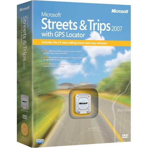 Streets Trips 2007 GPS Locator
