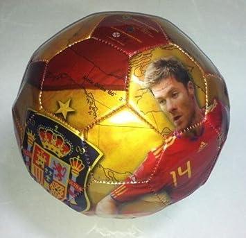 Balon de futbol de la roja Xabi Alonso Seleccion española: Amazon ...
