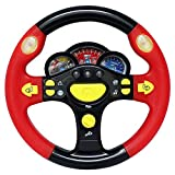 CCXZXF Turn and Learn Driver Kids Driving the Steering Wheel - with Music, Various Driving Sounds