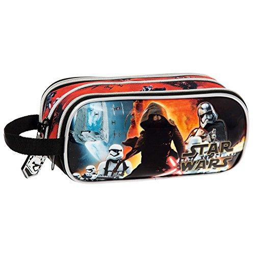 Disney Star Wars Battle Borsa Messenger, Poliestere, Nero, 22 cm