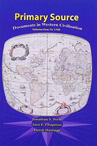 Primary Sources in Western Civilization, Volume 1 for Primary Sources in Western Civilization, Volume 1 (2nd Edition) -  Perry, Jonathan S., Paperback