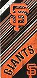 San Francisco Giants MLB 28x58 Diagonal Design Cotton Beach Towel