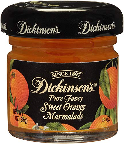 Sweet Orange Preserves - Dickinson's Pure Fancy Sweet Orange Marmalade, 1 Ounce (Pack of 72)