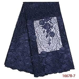 Amazon.com: Laliva GD1667B-2 - Vestido de fiesta bordado con ...