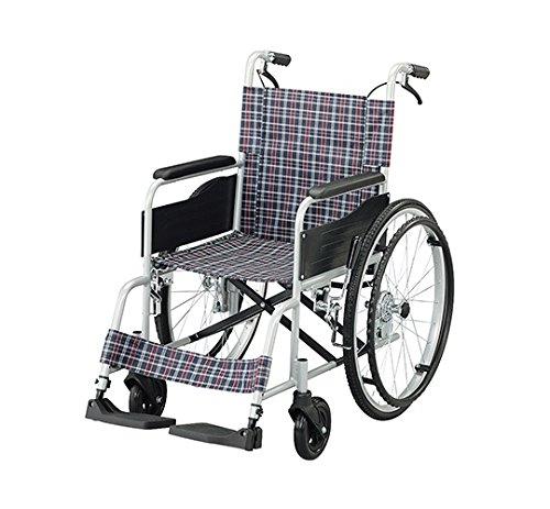 【非課税】車椅子 Fit-ALB (アルミタイプ)介助ブレーキあり B078KPFKSL