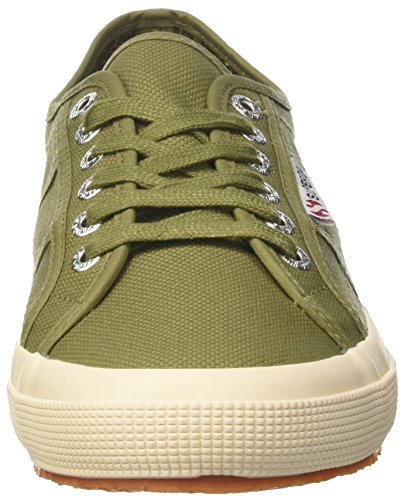 Adulte Classic Superga Cotu Mixte Baskets Vert 2750 xvSWn6XR