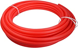 Supply Giant QGS-S38300 PEX Tubing, Oxygen Barrier for Hydronic Radiant Floor Heating Systems 3/8 in. x 300 Feet, RED, 3/8 Inch