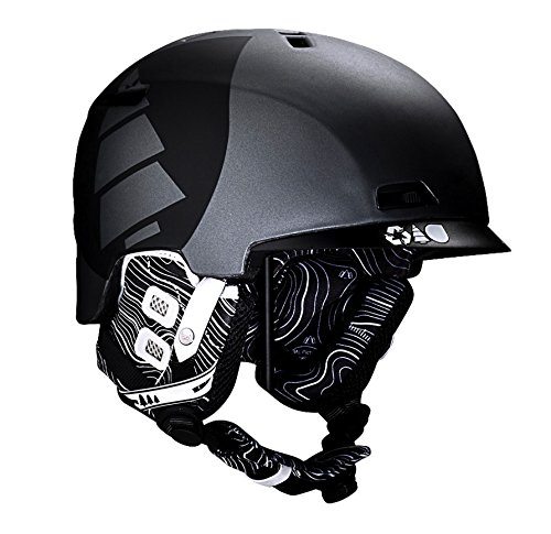 Picture Creative 2 EPS Ski Snow Helmet Black HE003 Extra Large