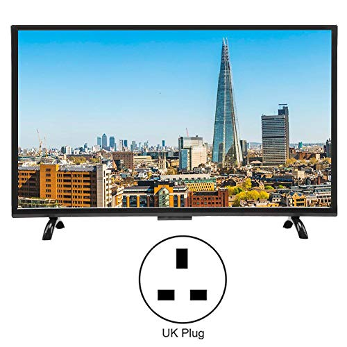 Wandisy 43-Inch Large-Screen Curved TV, HDMI Smart 3000R Curvature TV 1920×1200 HD Smart TV, Smart TV (GB)