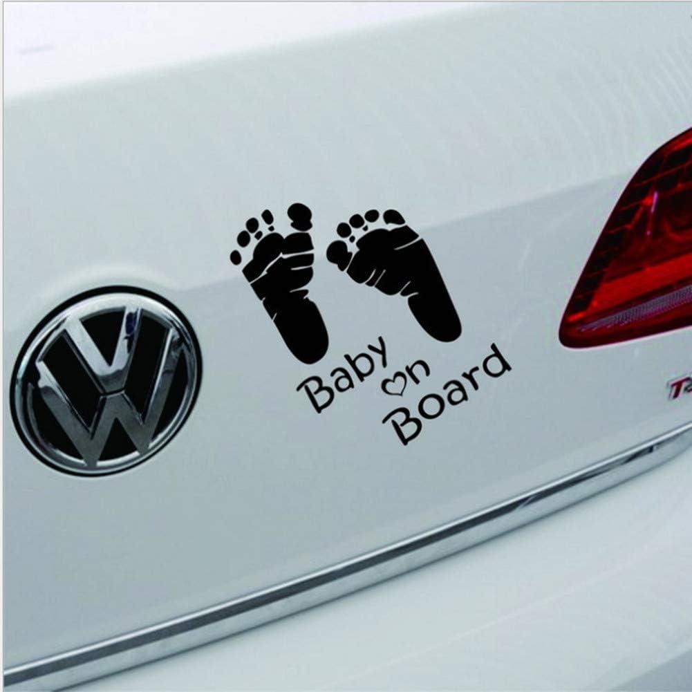 Openg Baby On Board Aufkleber Auto Auto Aufkleber Heckscheibenaufkleber Autodach Aufkleber Lustiger Autoaufkleber Mohn Auto Aufkleber Black