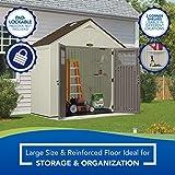 Suncast BMS8400D shed, 4' x