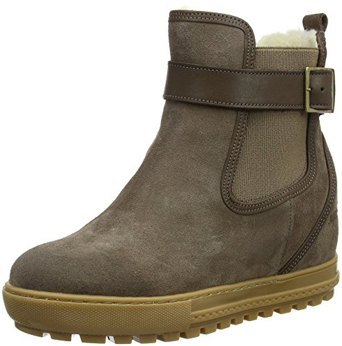 Boots Aigle Taupe Chelsea Chelswarm Brown Women's B4qwTF