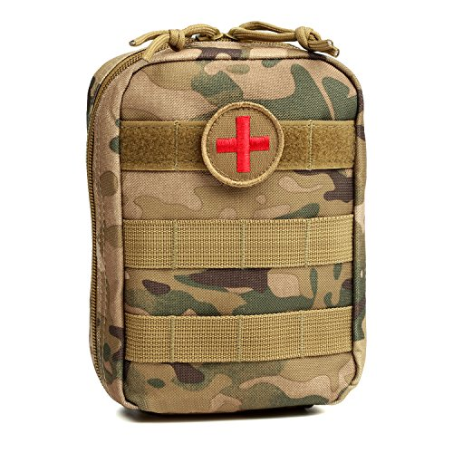 Orca Tactical MOLLE EMT Medical First Aid Utility Pouch (Bag Only) (Multicam) Action Medical First Aid Supplies
