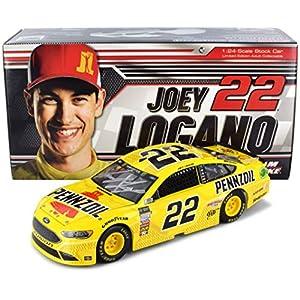 Lionel Racing Autographed Joey Logano 2018 Pennzoil NASCAR Diecast Car 1:24 Scale