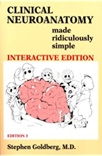 Clinical Neuroanatomy Book Cd Made Ridiculously Simple