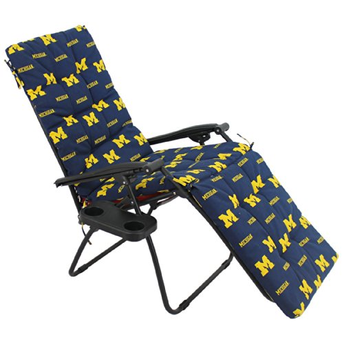 College Covers Michigan Wolverines Zero Gravity Chair Cushion (20x72x2)