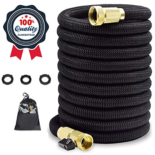 25 ft Expandable Garden Hose,25 Feet Leakproof Lightweight Garden Water Hose