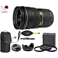 Nikon AF-S NIKKOR 24-70mm f/2.8G ED Lens 2164 (USA) Full Accessory Bundle Package Deal