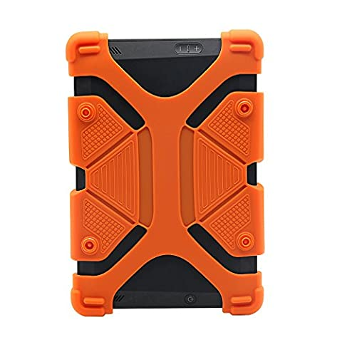 Universal 8 inch Tablet Case, Shockproof Silicone Protective Cover 7.8 - 8.9 with Stand for iPad Mini 1/2/3/4, Kindle Fire HD 7