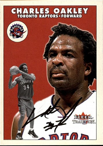 2001 Fleer - Charles Oakley - Raptors - Card - Raptor Oakley