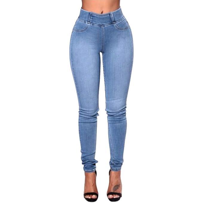 ZYUEER Pantaloni Lunghi Skinny delle Donne Sottili dei